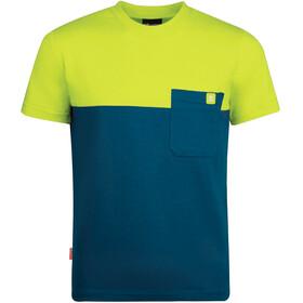 TROLLKIDS Bergen T-Shirt Kids, petrol/lime